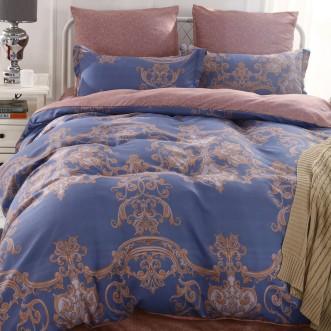 Постельное белье сатин вышивка  CN023 2 спальное СИТРЕЙД