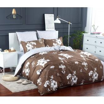 Постельное белье сатин вышивка  CN024 2 спальное СИТРЕЙД