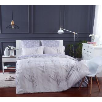 Постельное белье сатин вышивка  CN027 2 спальное СИТРЕЙД