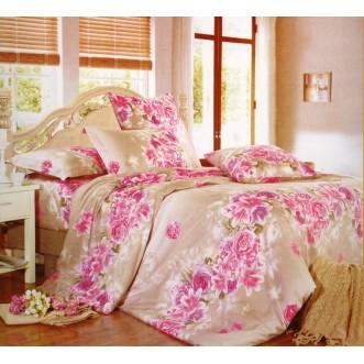 Постельное белье поплин 2 спальное A-146 Сайлид