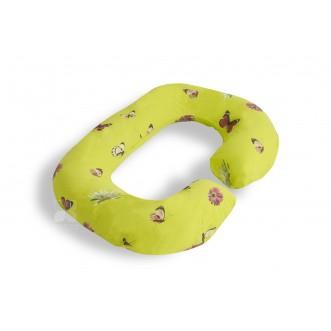 Наволочка поплин Бабочки для подушки Rogal Легкие сны в магазине Lux Postel