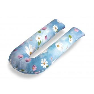 Наволочка поплин Цветы для подушки U Легкие сны в магазине Lux Postel
