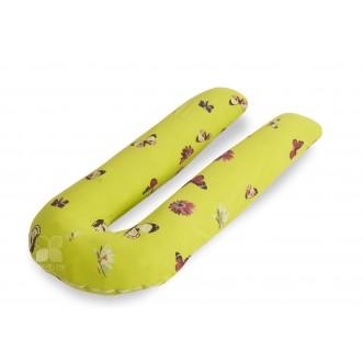 Наволочка поплин Бабочки для подушки U Легкие сны в магазине Lux Postel