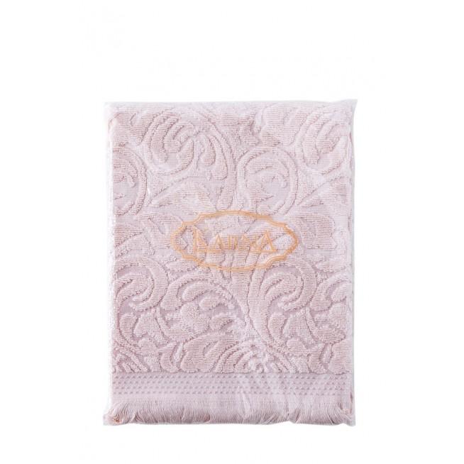 Полотенце махровое Esra кремовое Karna фото