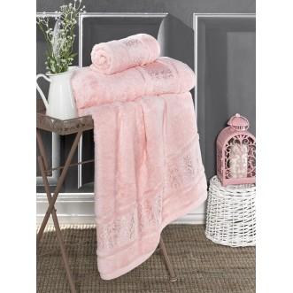 Полотенце бамбуковое Armond розовое Karna