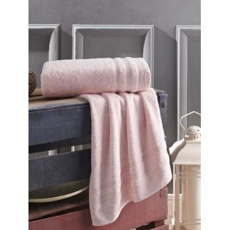 Полотенце махровое Derin розовое Karna