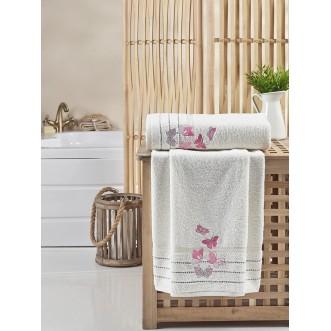 Набор махровых полотенец Belina кремовый Karna