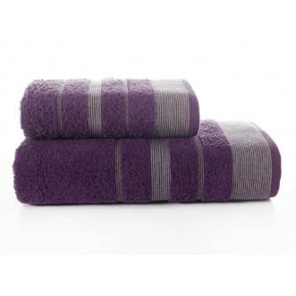 Набор махровых полотенец Regal фиолетовый Karna