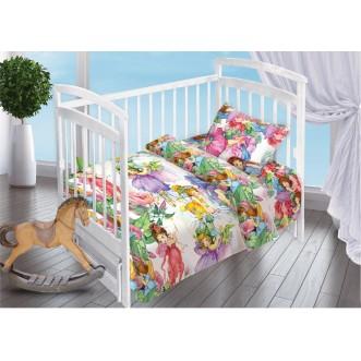 Постельное белье детское в кроватку поплин Вальтери Сказочные Феи