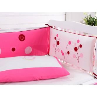 Набор в детскую кроватку с бортиком перкаль Вальтери DK-22-bort фото
