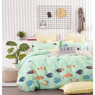 Купить постельное белье твил TPIG4-1035 1/5 спальное Tango