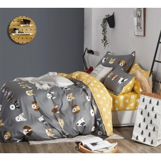 Купить постельное белье твил TPIG4-938 1/5 спальное Tango