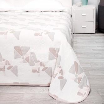 Гобеленовое покрывало Le Pastel Беж кристаллы 200х220 Paters цена