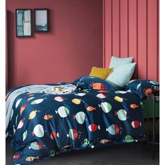 Купить постельное белье египетский хлопок TIS04-184 1.5 спальное Tango