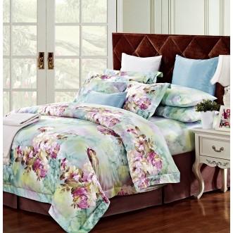 Купить постельное белье египетский хлопок TIS04-153 1.5 спальное Tango