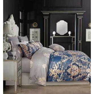 Купить постельное белье египетский хлопок TIS05-142 семейное Tango