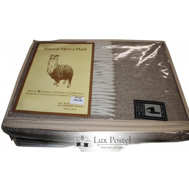 Шерстяной плед альпака меринос PP-58 Incalpaca упаковка