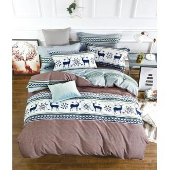 Купить постельное белье фланель MOMAE84 евро Tango