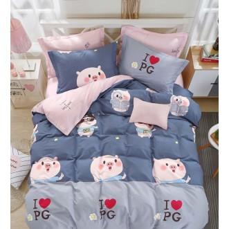 Купить постельное белье твил TPIG4-1057 1/5 спальное Tango