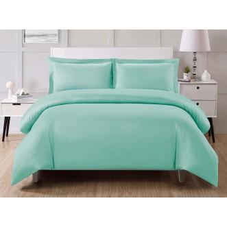 Купить постельное белье мако сатин Однотонное CIS07-36 евро Cristelle