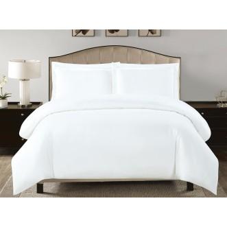 Купить постельное белье мако сатин Однотонное CIS07-100 евро Cristelle