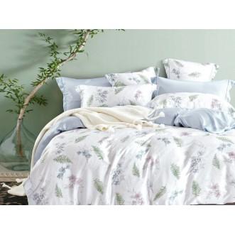 Постельное белье 1,5 спальный тенсел Asabella Нежные орхидеи