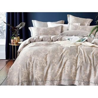 Постельное белье 1,5 спальный тенсел Asabella Нежная листва