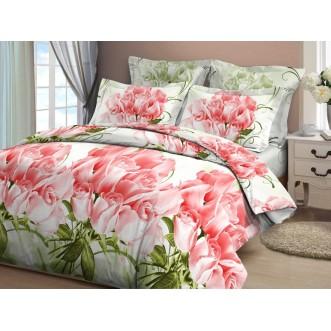 Постельное белье 2 спальное бязь Valtery Коллекционные розы