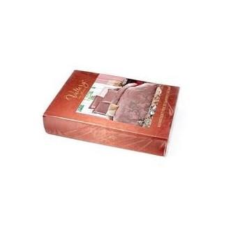Постельное белье евро сатин жаккард Вальтери JC-73 фото