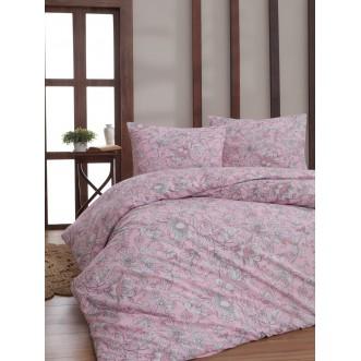 Постельное белье 1/5-спальное бязь Karna Rosina розовое
