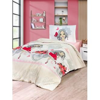 Постельное белье 2 спальное бязь Karna Kuki