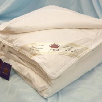Одеяло шелковое 1,5 спальное 140х205 легкое KingSilk Elisabette Люкс L-140-0,6