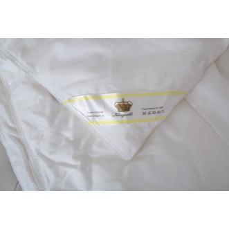 Одеяло шелковое 1,5 спальное 140х205 легкое KingSilk Elisabette Элит белое E-140-0,6-Bel