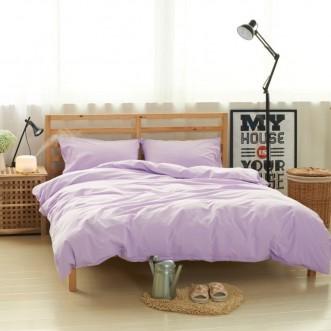 Постельное белье 2 спальное лен с хлопком Valtery Organic LE-04