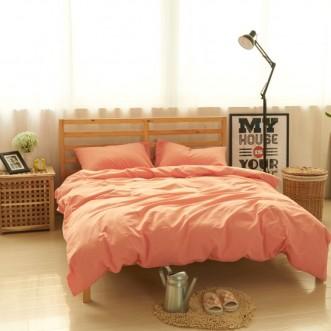 Постельное белье 2 спальное лен с хлопком Valtery Organic LE-05