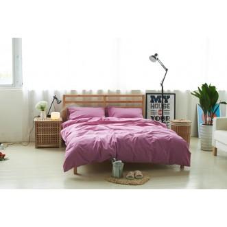 Постельное белье 2 спальное лен с хлопком Valtery Organic LE-06