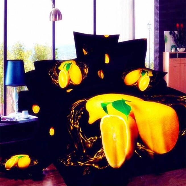 Постельное белье 3D мако-сатин D057 1.5 спальное СИТРЕЙД