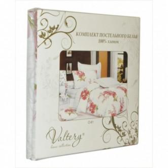 Постельное белье 1,5-спальное сатин Valtery C-365