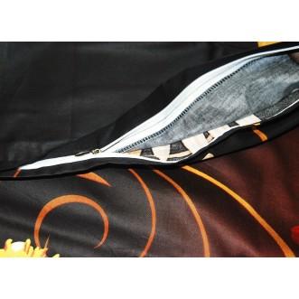 3D мако-сатин белье постельное D104 евро СИТРЕЙД