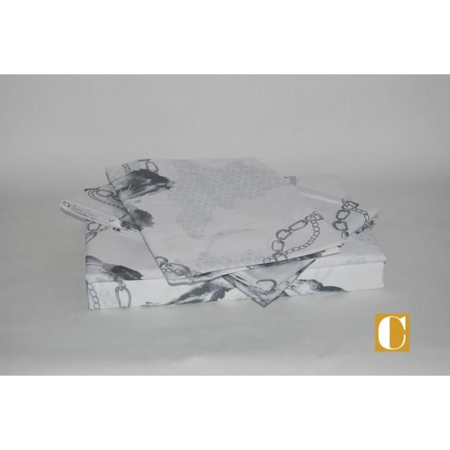 Белье постельное сатин Делюкс L20 евро макси СИТРЕЙД