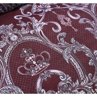 Белье постельное сатин Подарочный AC049 евро СИТРЕЙД