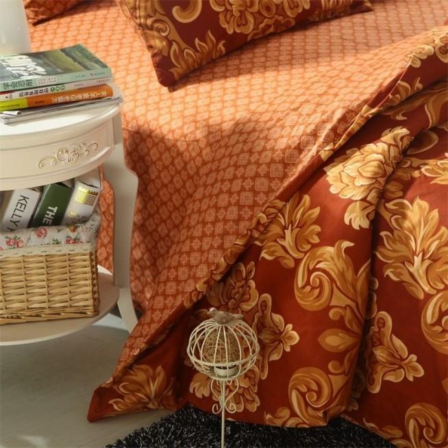 Белье постельное сатин Подарочный AC033 1.5 спальное СИТРЕЙД