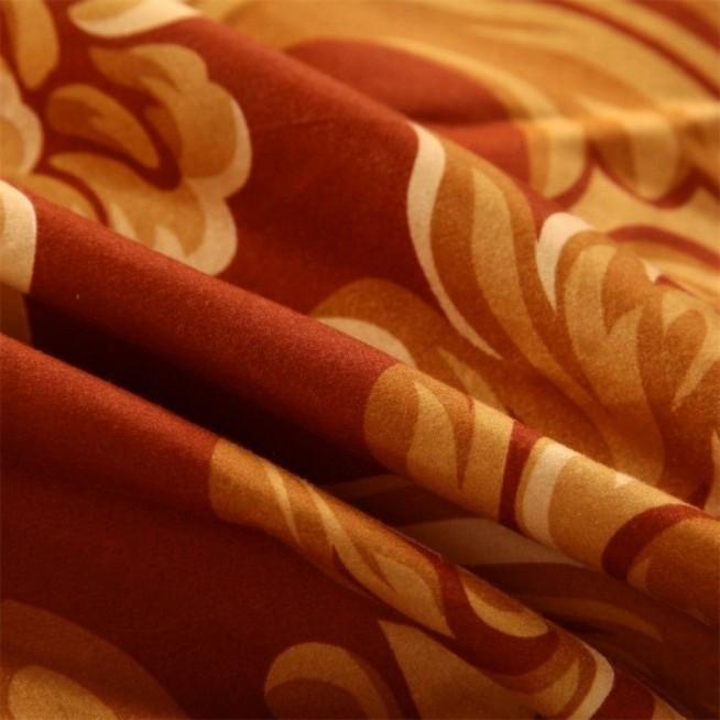 Подарочный сатин белье постельное AC033 1.5 спальное СИТРЕЙД