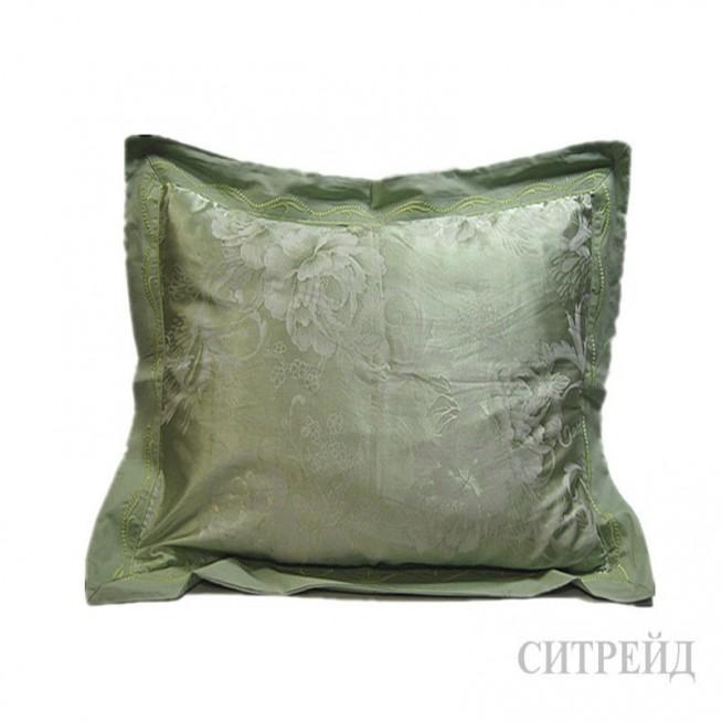 Подарочный жаккард с вышивкой белье постельное H018 Евро СИТРЕЙД