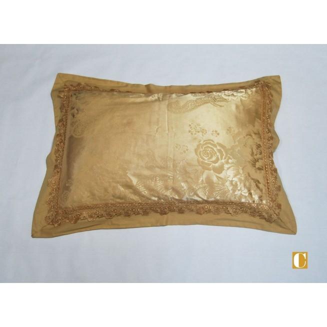 Подарочный жаккард с вышивкой белье постельное H036 Евро СИТРЕЙД