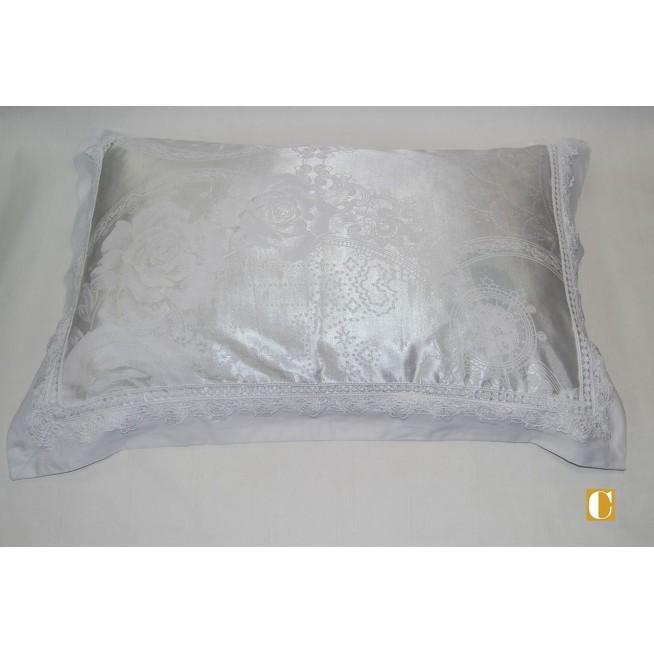 Подарочный жаккард с вышивкой белье постельное H037 Евро СИТРЕЙД