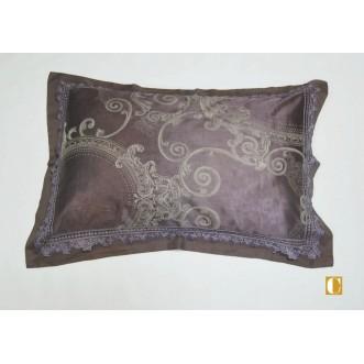 Подарочный жаккард с вышивкой белье постельное H038 Евро СИТРЕЙД