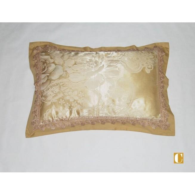 Подарочный жаккард с вышивкой белье постельное H039 Евро СИТРЕЙД