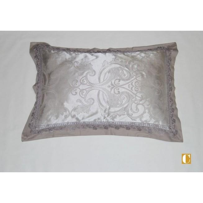 Подарочный жаккард с вышивкой белье постельное H040 Евро СИТРЕЙД