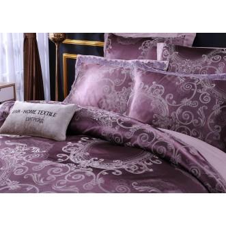 Белье постельное жаккард с вышивкой H041 Евро СИТРЕЙД